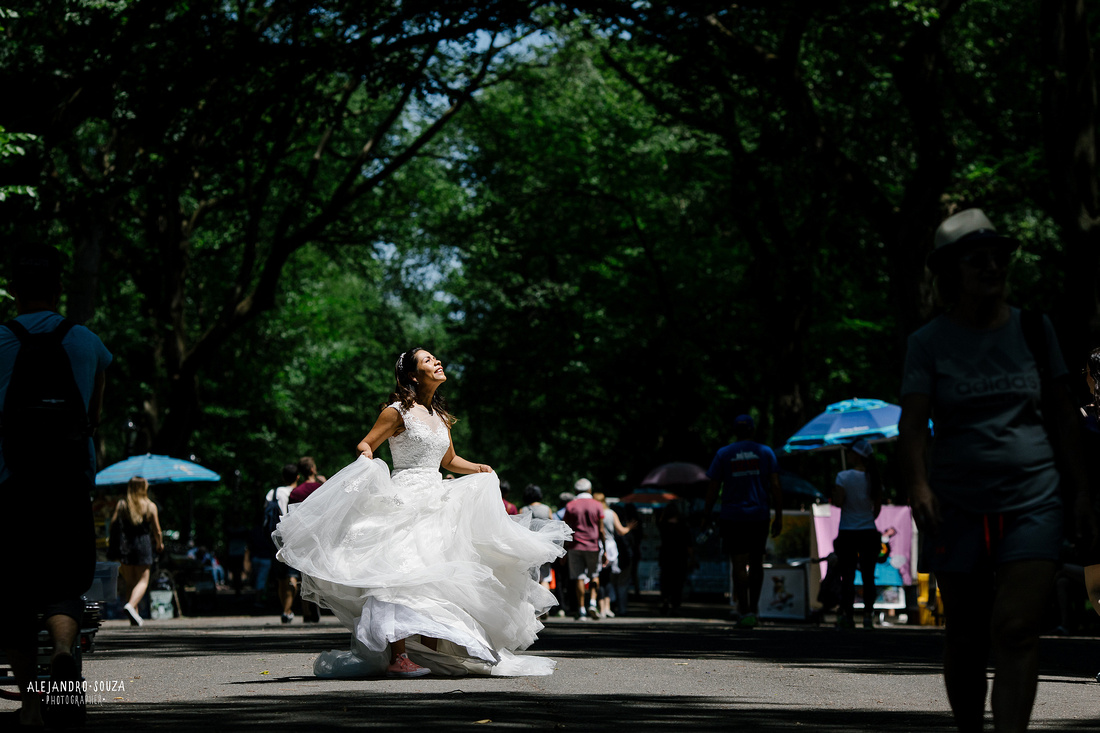 times square trash the dress